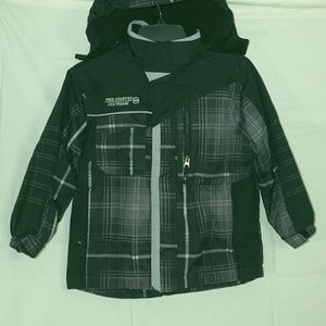 Youth Free Country hooded jacket VGUC 5/6